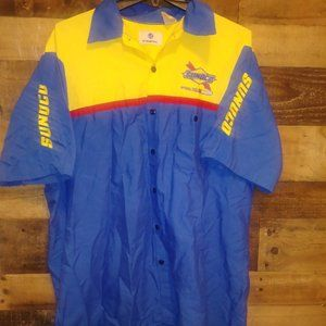 Sunoco Official Fuel of Nascar Button UP SHIRT